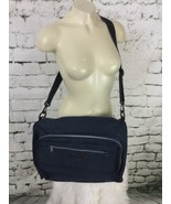 "Time Crossbody Bag Navy Blue Large 15"" X 10"" X 7"" - $29.69"