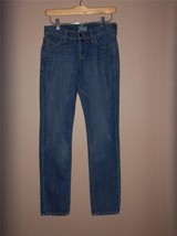 W7421 Womens OLD NAVY Blue Medium Wash Stretch The Diva SKINNY JEANS sz 0 - $11.65