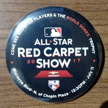 All-Star Game Red Carpet Show Button - Marlins Miami - Fast Shipping - $0.98