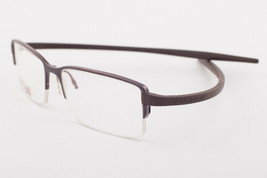 Tag Heuer 3722-002 Reflex Chocolate Titanium Eyeglasses 3722 002 55mm - $244.02
