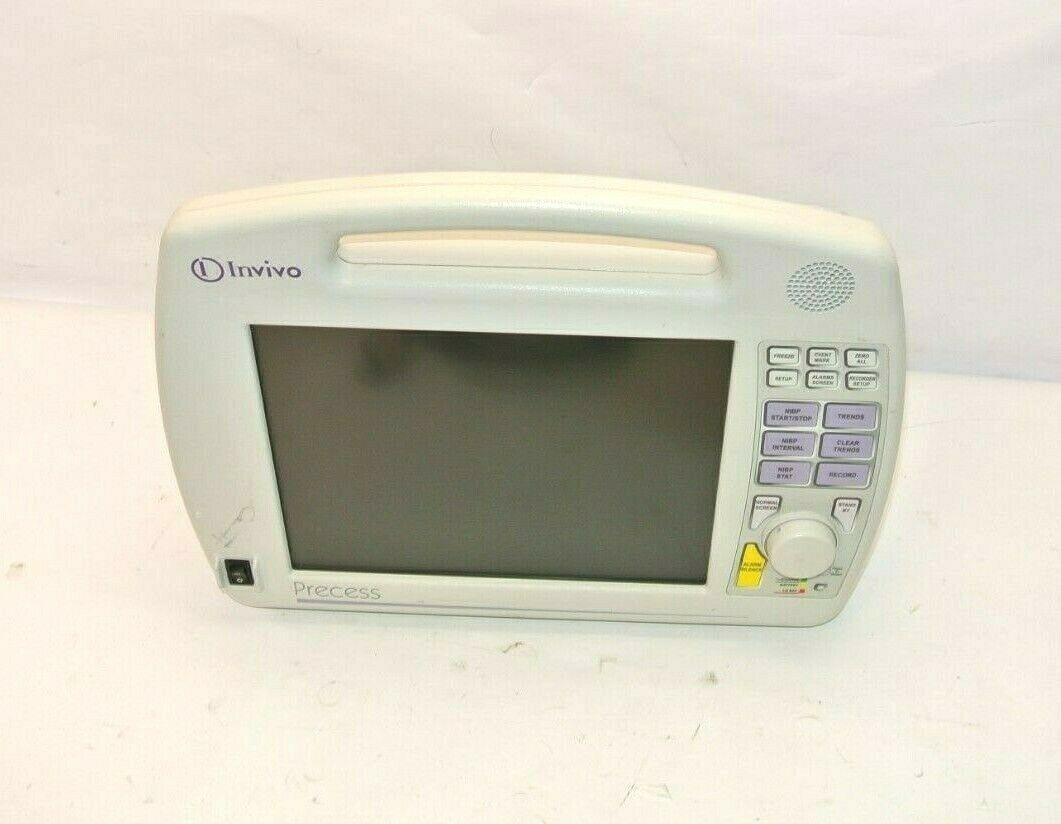 Invivo Precess 3160DCU Patient Monitoring System - No Charger No Batt