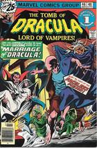 The Tomb of Dracula Comic Book #46, Marvel Comics 1976 VERY FINE- - $13.08