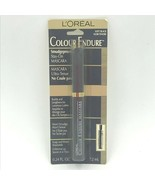 Loreal Colour Endure Mascara Soft Black Smudgeproof NOS .24 Fl Oz Sealed... - $19.95