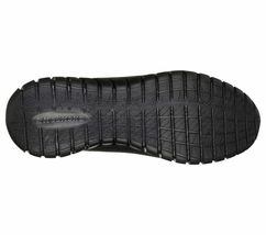 52821 Wide Fit Black Skechers shoe Men Memory Foam Sport Comfort Train Walk Mesh image 4