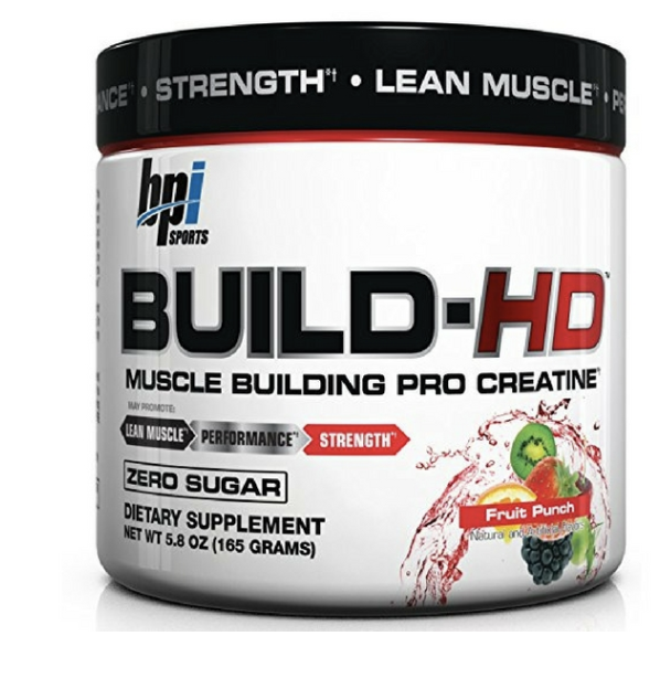 Primary image for BPI BUILD-HD/ BEST PREWORKOUT NEUROCOGNITIVE CREATINE/PROVIDE OPTIMUM NUTRITION