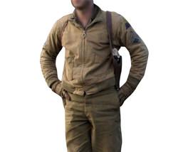 Fury Brad Pitt Wardaddy Battle Tank Commander WW2 Bomber Military Cotton Jacket image 5