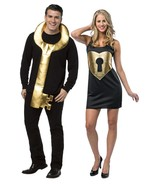 Key To My Heart Couples Romantic Adult Costume Halloween Unique Funny GC... - $49.99