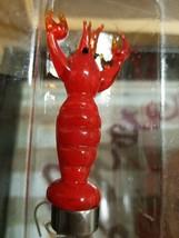 NIB Cypress Serving Set Glass Cutting Board, Napkins, Spreader Lobster Crab - $12.99