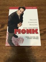 DVD Monk - Season 1 (DVD, 2004, 4-Disc Set) - $10.00