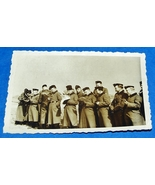 ORIGINAL WW2 GERMAN PHOTO: UNIFORMED NSKK MEN DURING TRAINING - $7.50