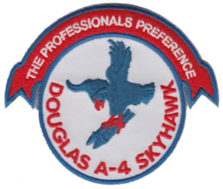 US Navy Douglas A-4 Skyhawk Professionals Preference Patch NEW!!! - $11.87