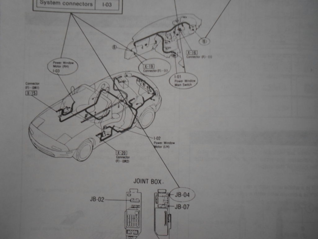 Mazda Protege Window Wiring - Wiring Diagram