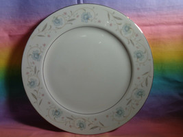 "English Garden Fine China 1221 Replacement Dinner Plate 10 1/4"" Platinum... - $7.89"