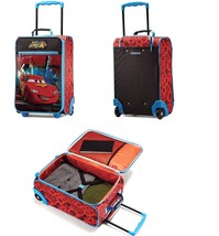 "new AMERICAN TOURISTER Disney Pixar CARS 18"" Carry On Luggage Suitcase W... - $54.90"