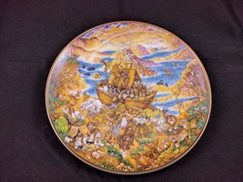 TWO BY TWO Franklin MInt 1991 a NOAHS ARK Plate by Bill Bell Nursery - $9.74
