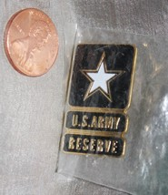 US Army Reserves Enamel Star Lapel Pin Military Collectible - $9.74