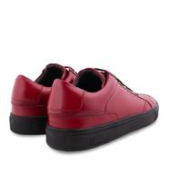 Sole Moreschi Burgundy Fashion Sneakers Leather Rubber Calf Men's Shoes 7Ur5xqI8Uw