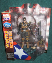 Marvel Select Winter Soldier. Disney Store Exclusive Action Figure. New. - $65.99