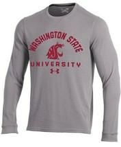 Washington State Cougars NCAA Men's Under Armour Waffle Long Sleeve Shir... - $23.30