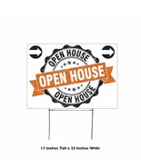 Open House Yard Sign Right Arrows Stakes Weather Resistant Real Estate R... - $21.68