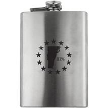 Original Vermont State III Percenter Stainless Steel 8oz. Flask - €17,21 EUR