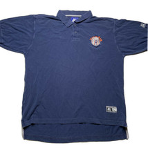 Vintage 90s Starter Men's Large Illinois Cheif Logo Embroidered Polo Shi... - £21.54 GBP