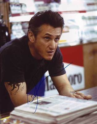 Primary image for Sean Penn AUTHENTIC Autographed Photo COA SHA #22116