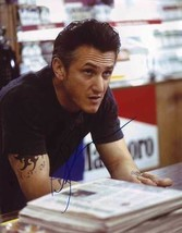 Sean Penn AUTHENTIC Autographed Photo COA SHA #22116 - $85.00