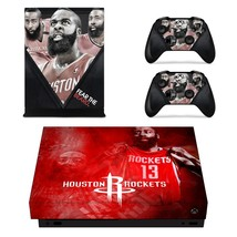 Houston Rockets xbox one X skin decal for console and 2 controllers - $15.00