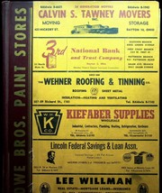 1961 William's Dayton Ohio City Directory Includes Yellow Pages & Advert... - $37.99