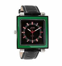 Flud Rivington ( Grn / Rd / Schwarz) Armbanduhr Mit 3 Anders Bänder Brandneu IN image 3