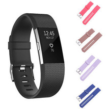 Fashion Replacement Soft Silicone Wrist Band Strap Bracelet For Fitbit C... - $56,60 MXN