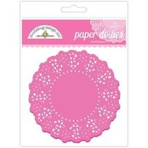 """Doodlebug Designs Paper Doilies.  75 Pack.  Choose Color.  4 1/2"""" image 2"""