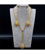 Sunny Jewelry Fashion Jewelry 2019 Long Necklace Chain Earrings For wome... - $30.26