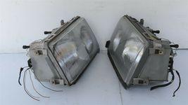 86-93 Mercedes W124 260E 300E 300D 300TE 400E Euro E-Code Headlight Lamps Set LR image 4