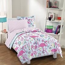 dream FACTORY Flamingo Comforter Set, Pink, Twin - $61.59
