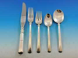 Epic by Gorham Sterling Silver Flatware Set for 8 Service 44 pieces Art Deco - $2,337.50