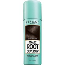 2 PACK - L'oreal Magic Root Cover Up Gray Concealer Spray, Dark Brown, 2... - $13.76