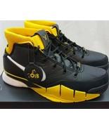 Nike Kobe 1 Protro Del Sol Black Varsity Maize Bryant Lakers AQ2728-003 ... - $178.19