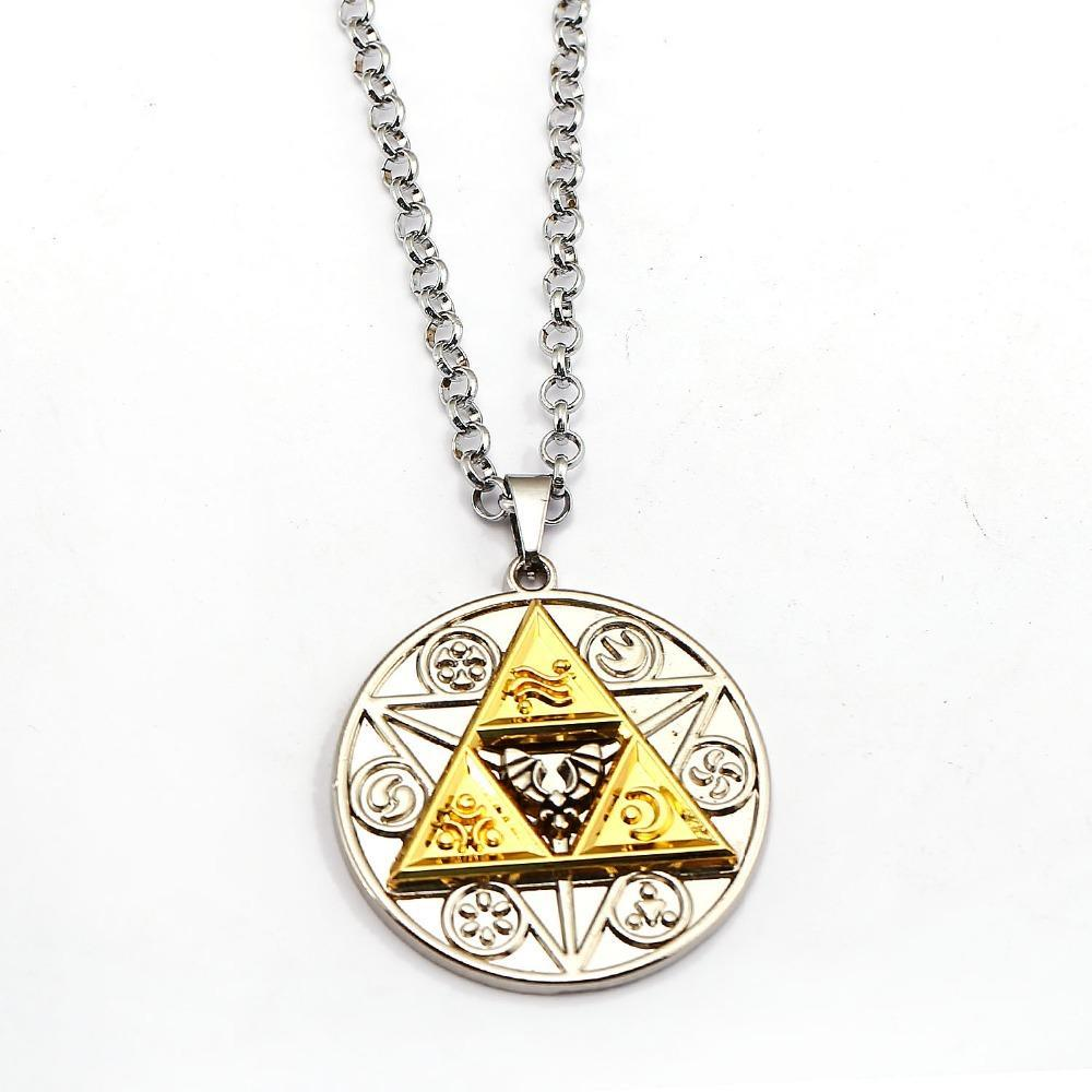 Primary image for Moontreya, The Legend of Zelda (Breath of the Wild) Unisex Necklace / Pendant