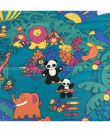 Wamsutta Jungle Crayola Crayon Fabric Material Panel Wall Hanging Quilt ... - $15.93