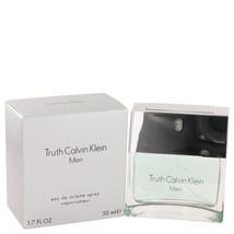 Truth By Calvin Klein Eau De Toilette Spray 1.7 Oz 402158 - $26.30