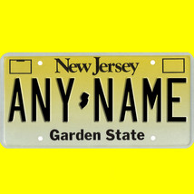RC or model car custom New Jersey license plate set - 1/5 to 1/42 scale - $11.00