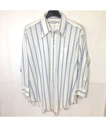 Vintage Alleson of Rochester Casual Button Down Shirt Big Mens Size 18 - $59.39