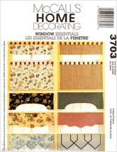McCall's Home Decorating Sewing Pattern Window ... - $2.99