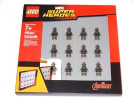 Marvel Super Heroes LEGO Minifigure Display Case Set Frame #853611 Aveng... - $29.99