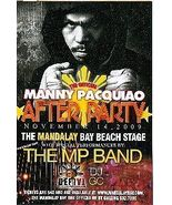 The Official Manny Pacquiao After Party 11 14 09 card - $3.95