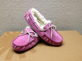 Ugg Dakota Raspberry Cancer Awareness Mocc ASIN Slippers Us 6 / Eu 37 / Uk 4.5 - $112.20