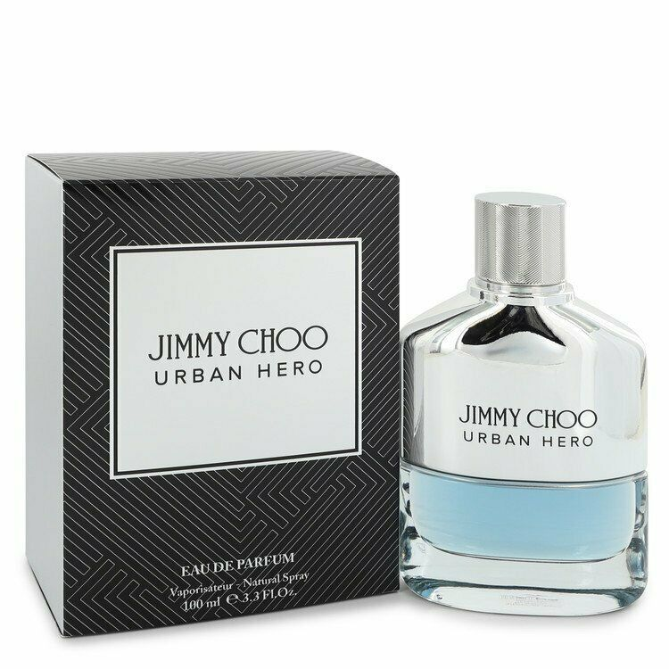 Jimmy Choo Urban Hero by Jimmy Choo 3.3 oz EDP Spray for Men New in Box - $57.90