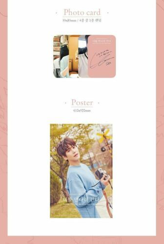 KYUHYUN Super Junior - The Day we Meet Again [Pink ver.] (3rd Single Album) CD+6
